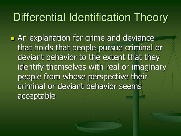 deviance theory analysis Not everyone agrees about why some people break rules while others follow them now that you have learned some of the main theories of deviance, you are ready to put your sociological perspective in gear and find out what other people's views are on this topic.