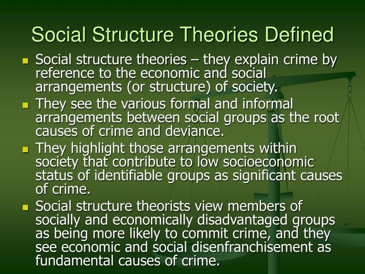 "structural criminology Criminology (from latin crīmen, accusation originally derived from the ancient greek verb krino κρίνω, and ancient greek -λογία, -logy|-logia, from logos meaning: ""word,"" ""reason,"" or ""plan"") is the scientific study of the nature, extent, management, causes, control, consequences, and prevention of criminal behavior, both on the individual and social levels."