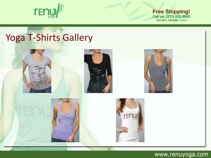 Yoga T-Shirts Gallery