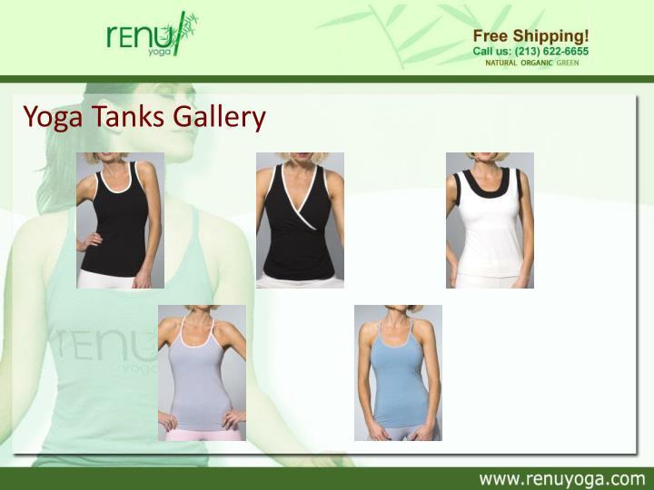 Yoga Tanks Gallery