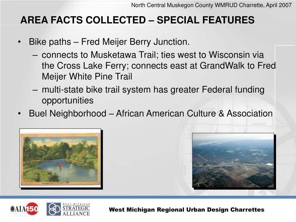 Bike paths – Fred Meijer Berry Junction.
