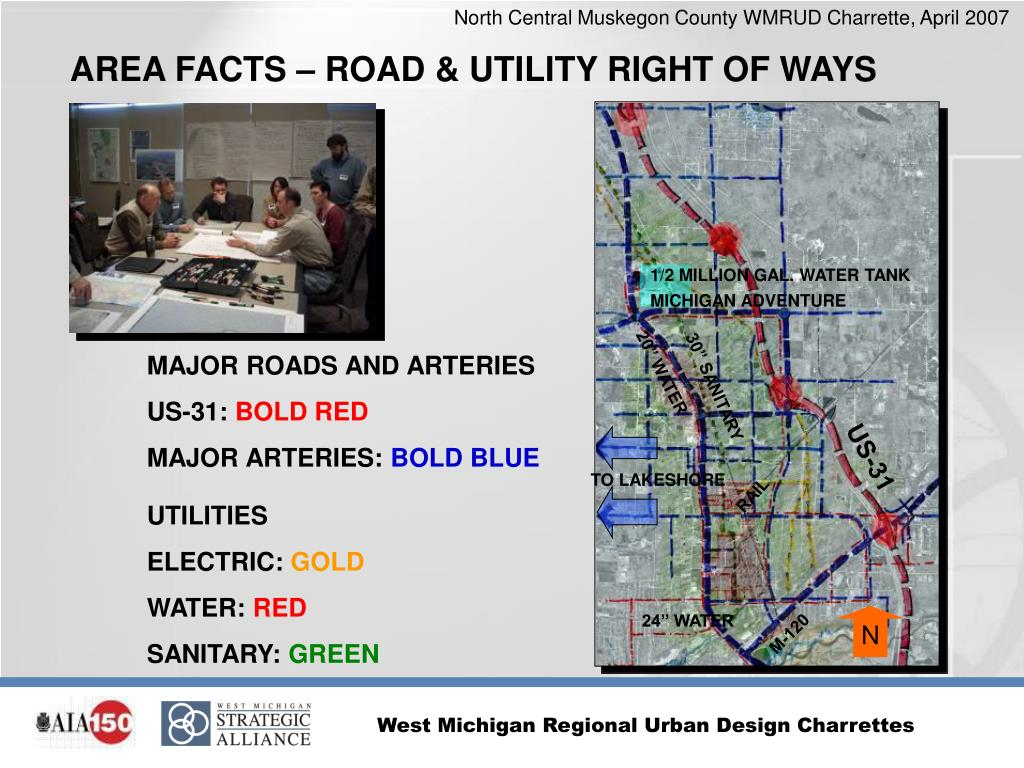 AREA FACTS – ROAD & UTILITY RIGHT OF WAYS