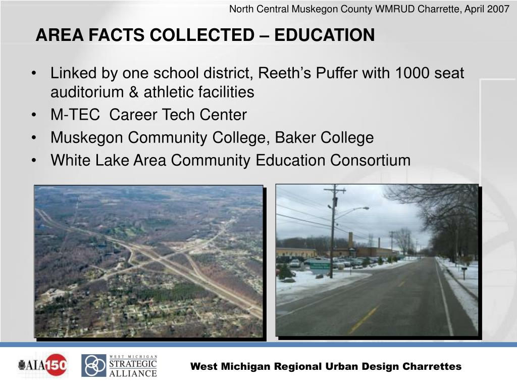 Linked by one school district, Reeth's Puffer with 1000 seat auditorium & athletic facilities