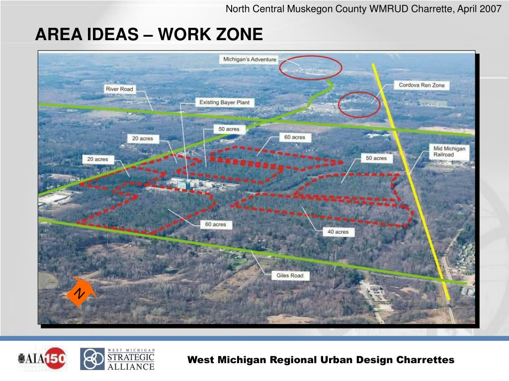 AREA IDEAS – WORK ZONE