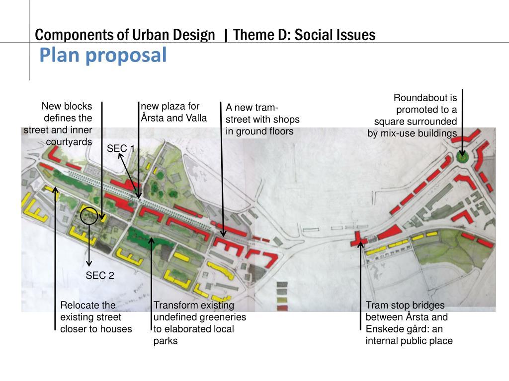Plan proposal