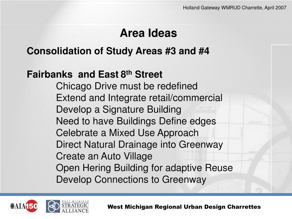 Area Ideas