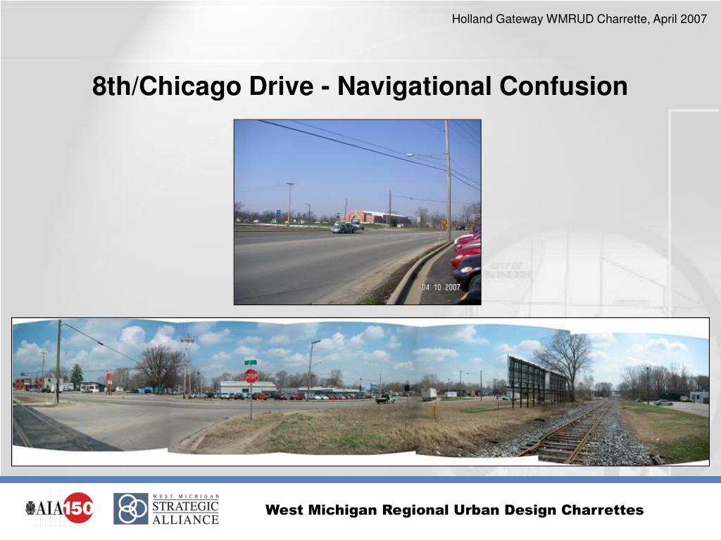 8th/Chicago Drive - Navigational Confusion