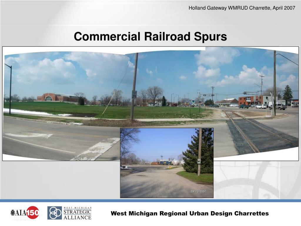 Commercial Railroad Spurs