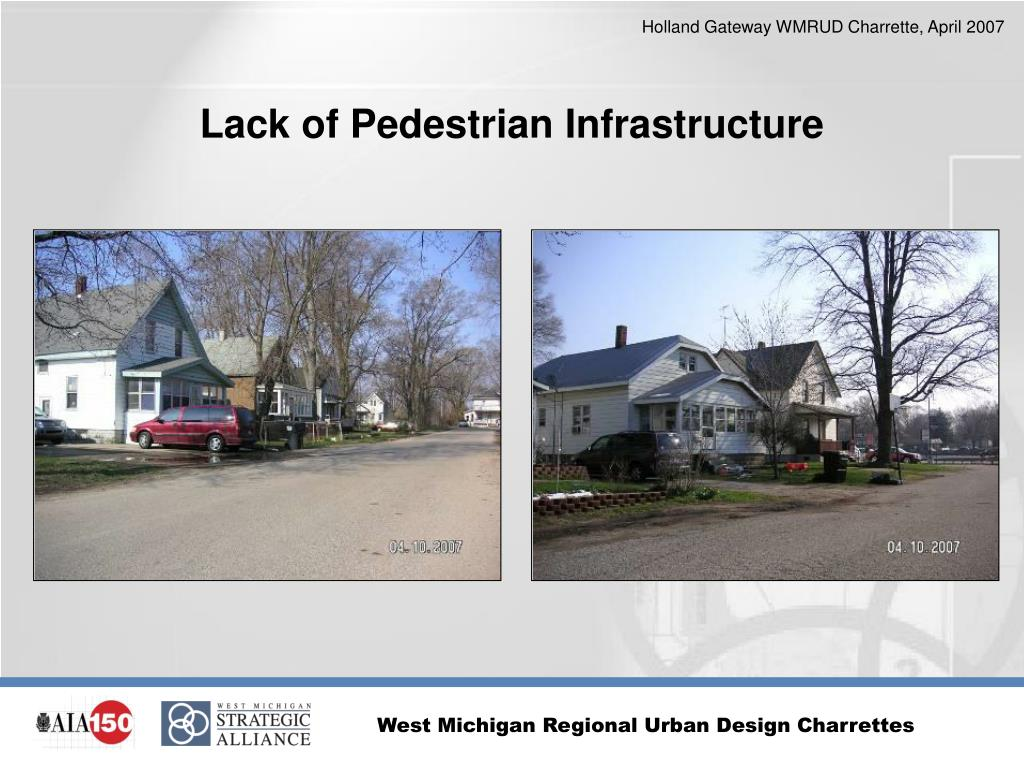 Lack of Pedestrian Infrastructure