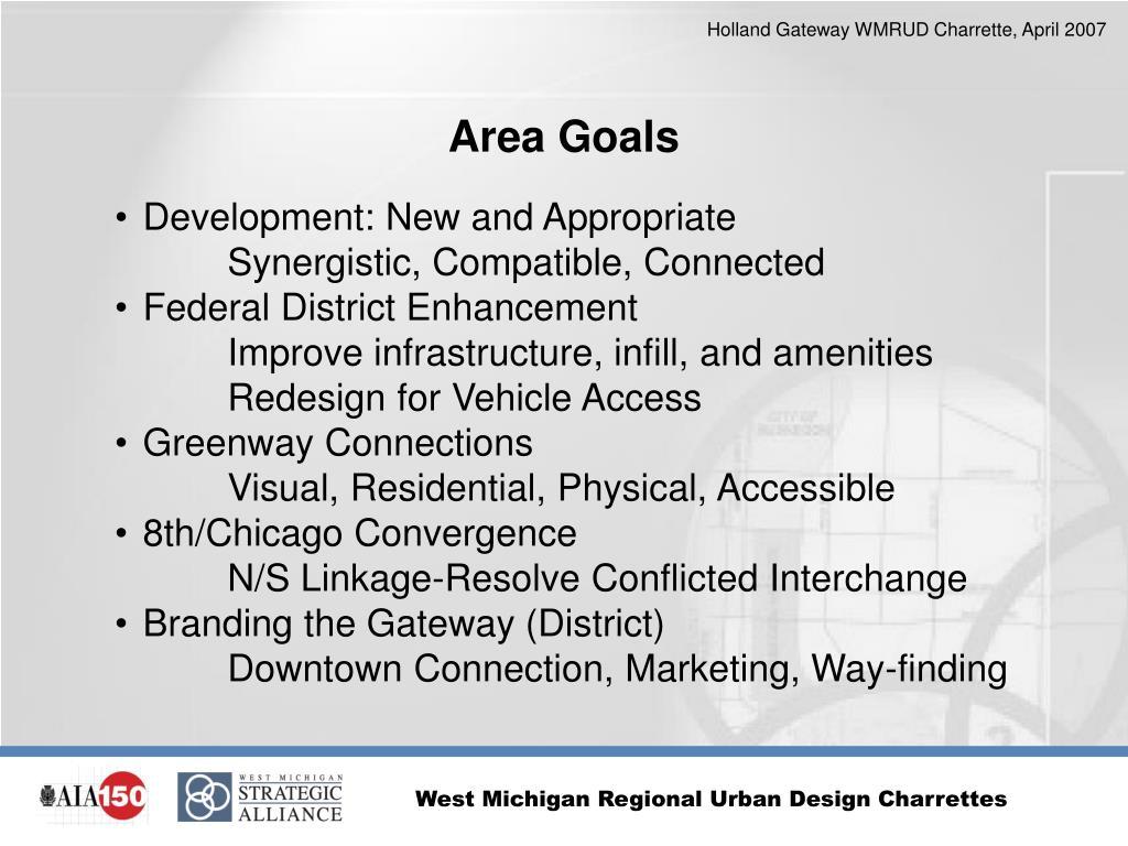 Area Goals