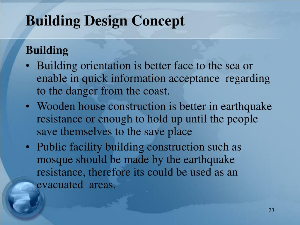 Building Design Concept