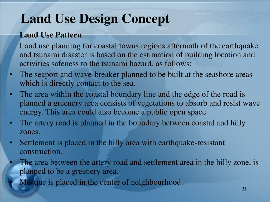 Land Use Design Concept