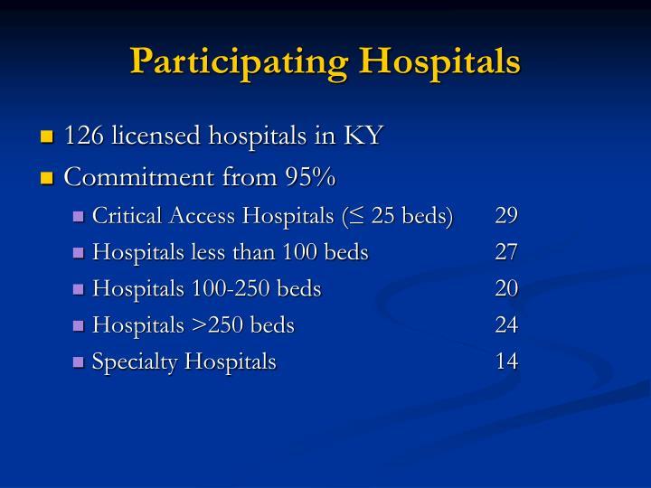 Participating Hospitals
