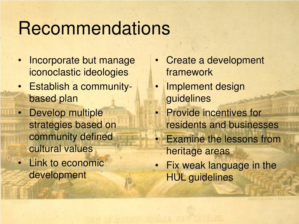 Incorporate but manage iconoclastic ideologies