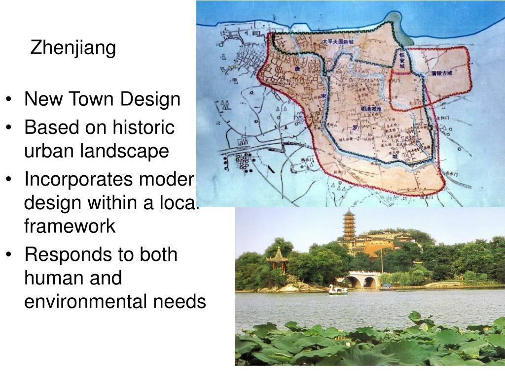 New Town Design