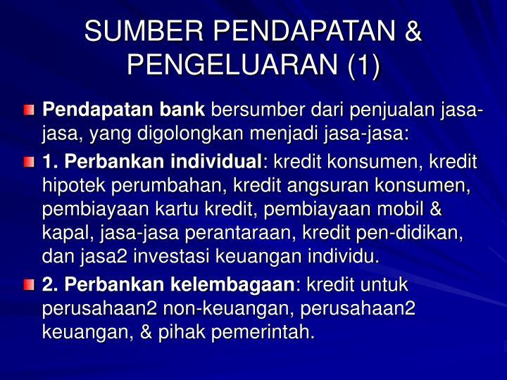 SUMBER PENDAPATAN & PENGELUARAN (1)