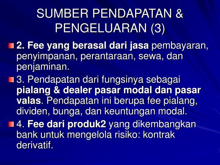 SUMBER PENDAPATAN & PENGELUARAN (3)