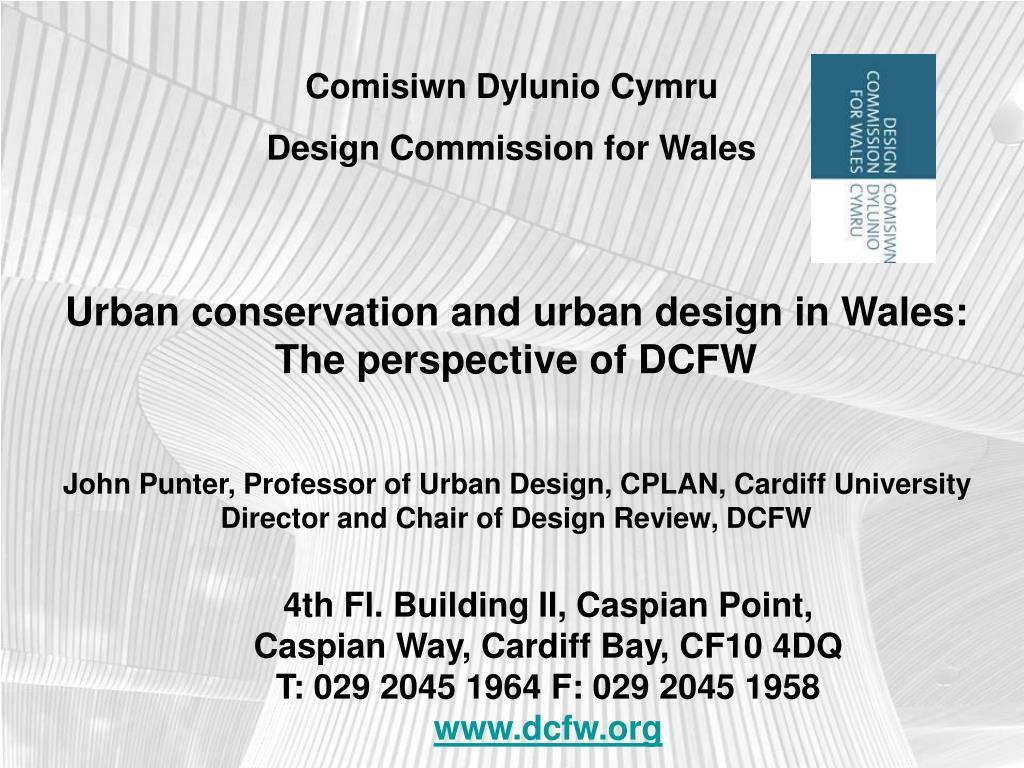 Comisiwn Dylunio Cymru
