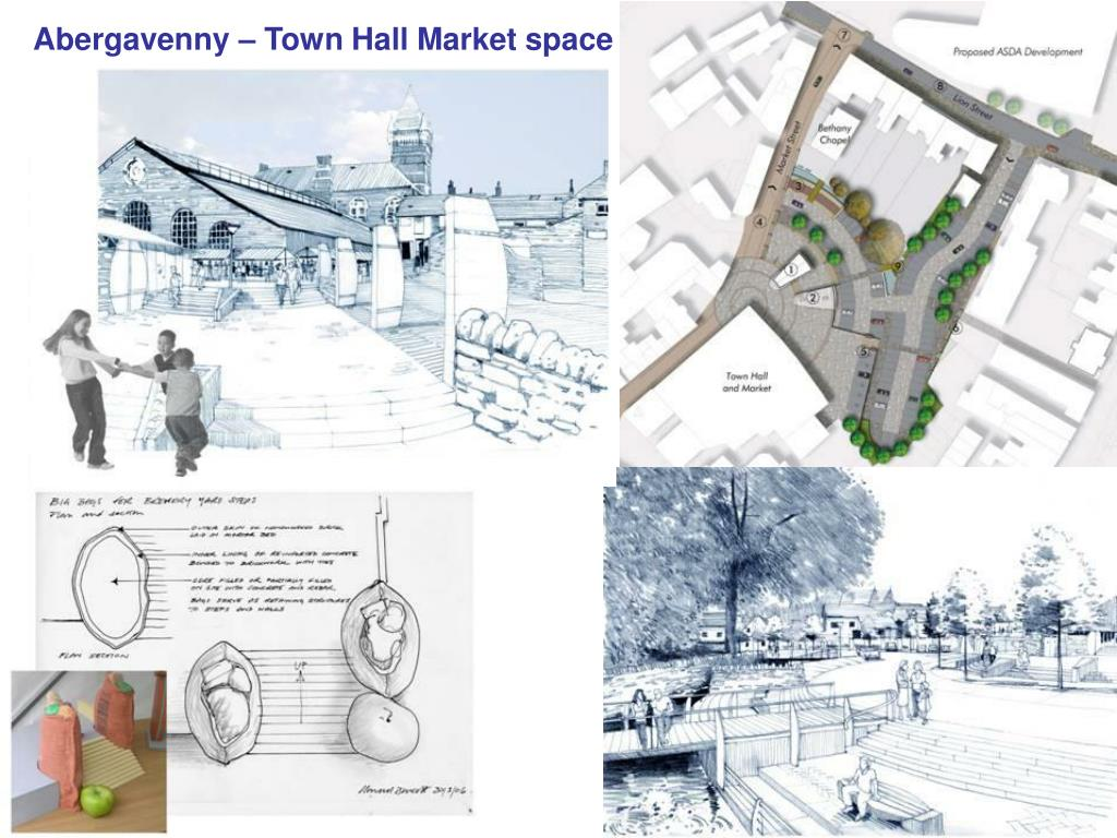Abergavenny – Town Hall Market space