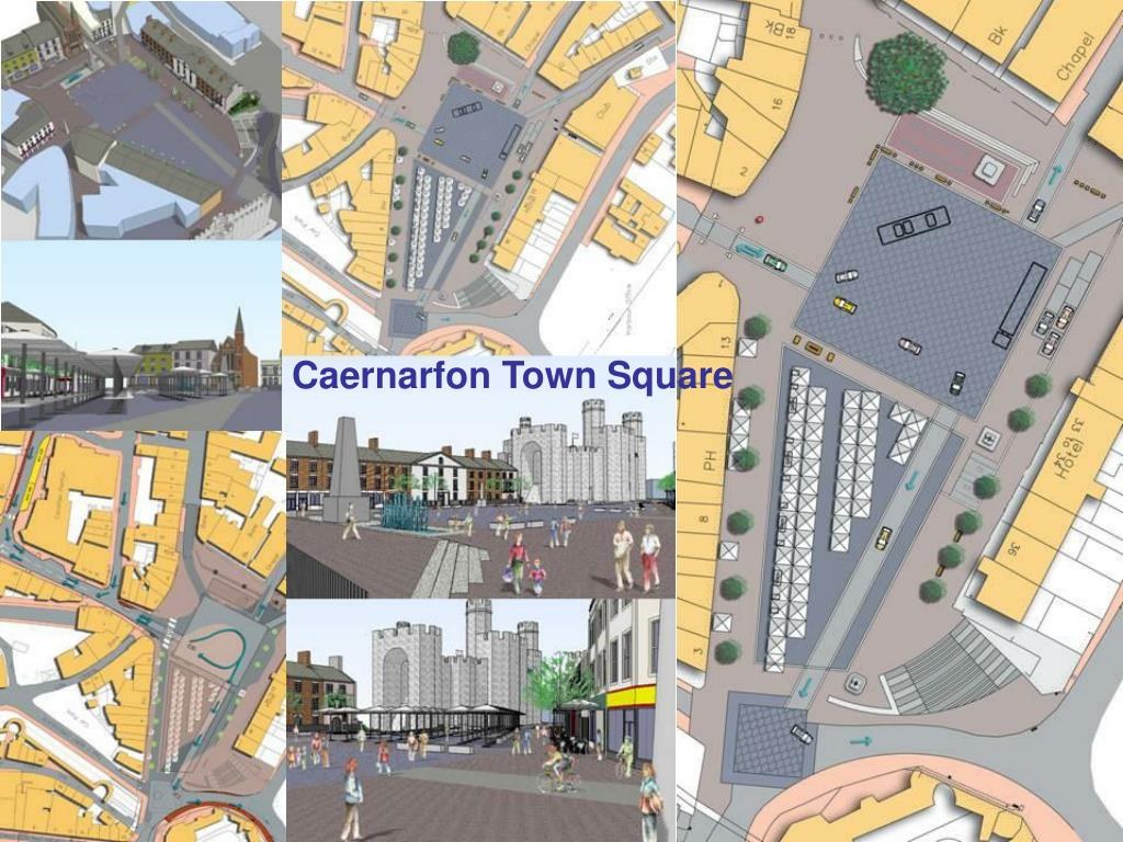 Caernarfon Town Square