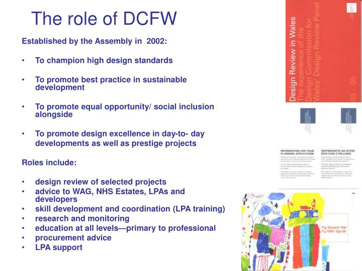 The role of dcfw l.jpg