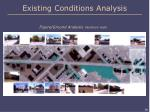 existing conditions analysis