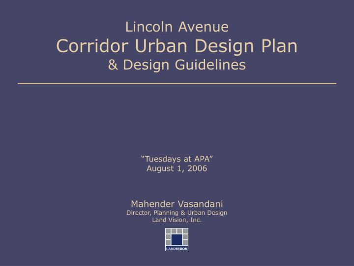 Lincoln avenue corridor urban design plan design guidelines l.jpg