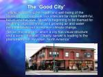the good city8