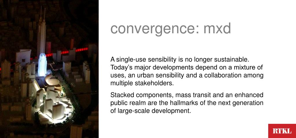 convergence: mxd