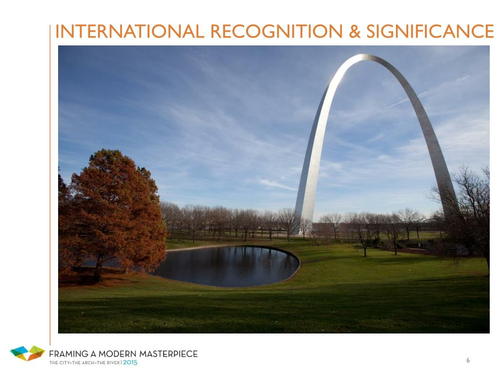 INTERNATIONAL RECOGNITION & SIGNIFICANCE