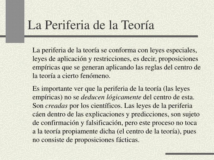 La Periferia de la Teora
