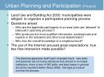 urban planning and participation finland