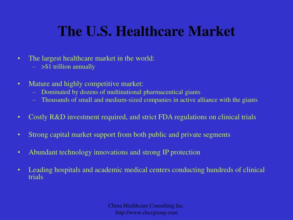 The U.S. Healthcare Market