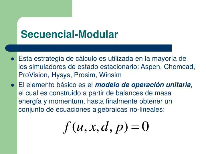 Secuencial-Modular
