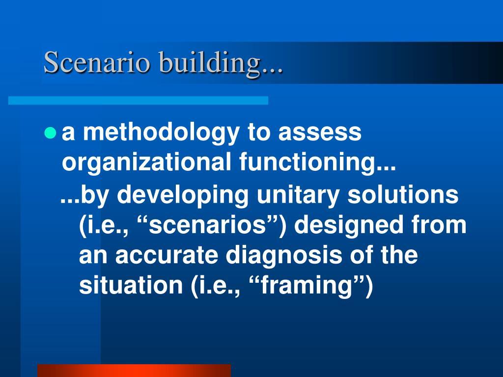 Scenario building...