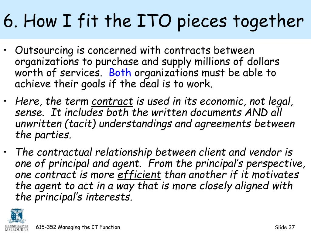 6. How I fit the ITO pieces together