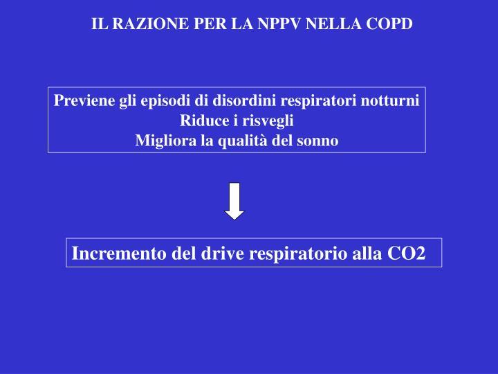 IL RAZIONE PER LA NPPV NELLA COPD