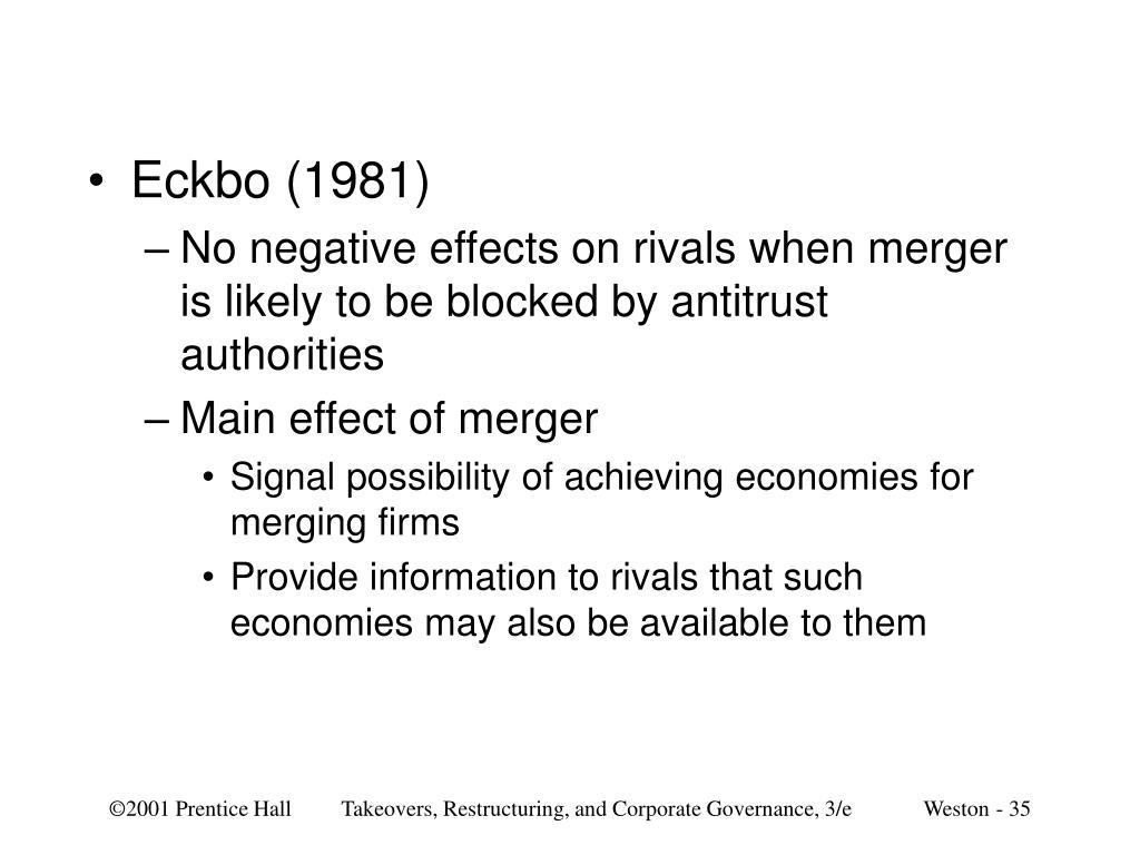 Eckbo (1981)