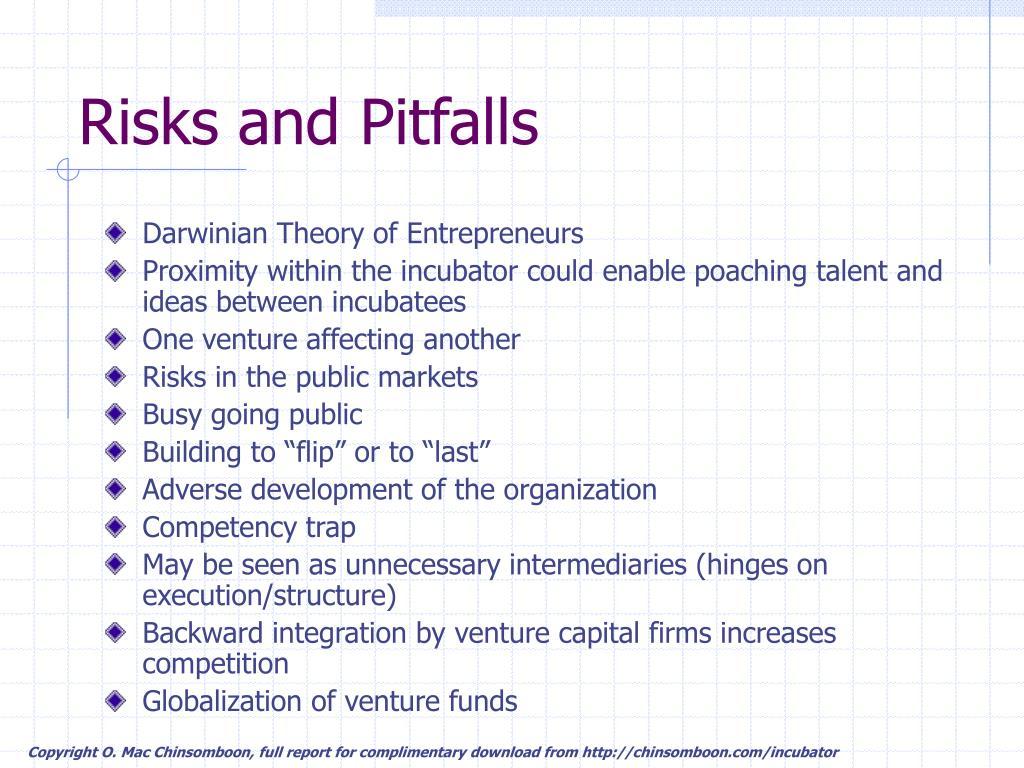 Risks and Pitfalls