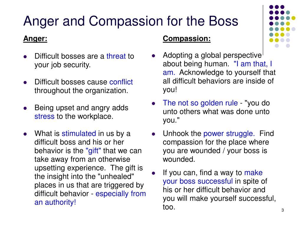 Compassion: