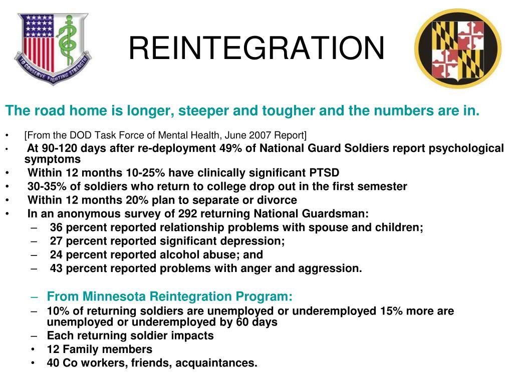 REINTEGRATION
