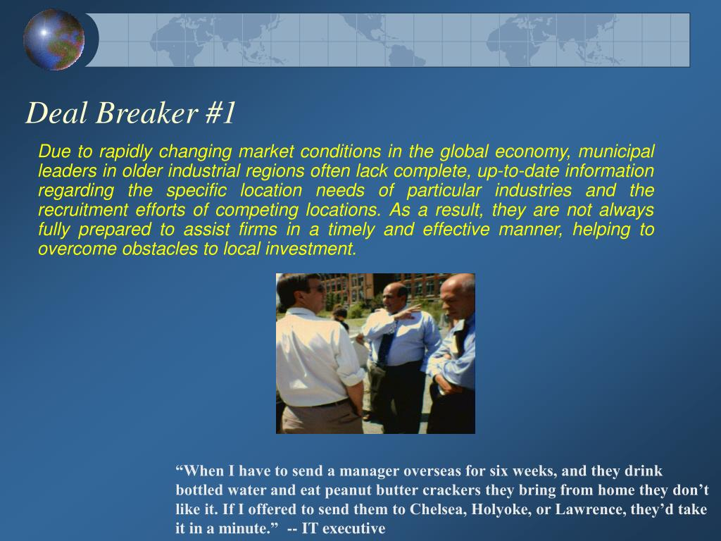 Deal Breaker #1