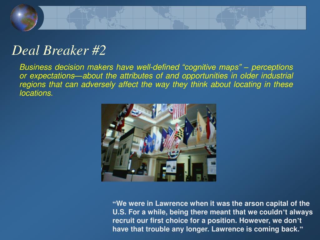 Deal Breaker #2