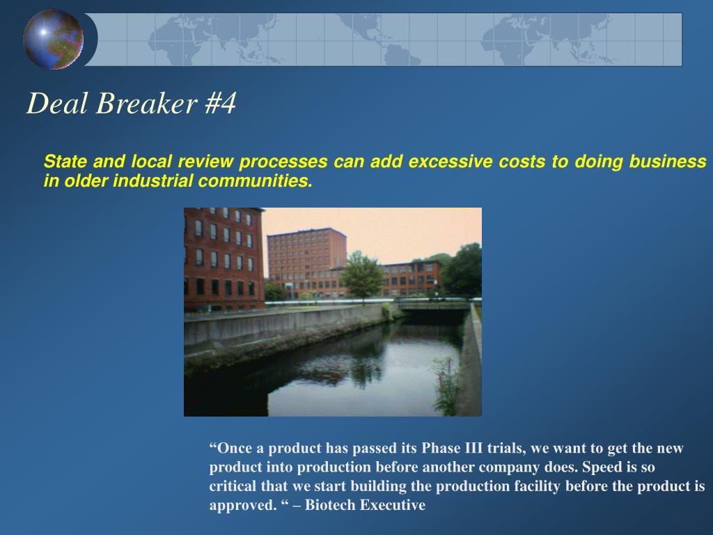 Deal Breaker #4