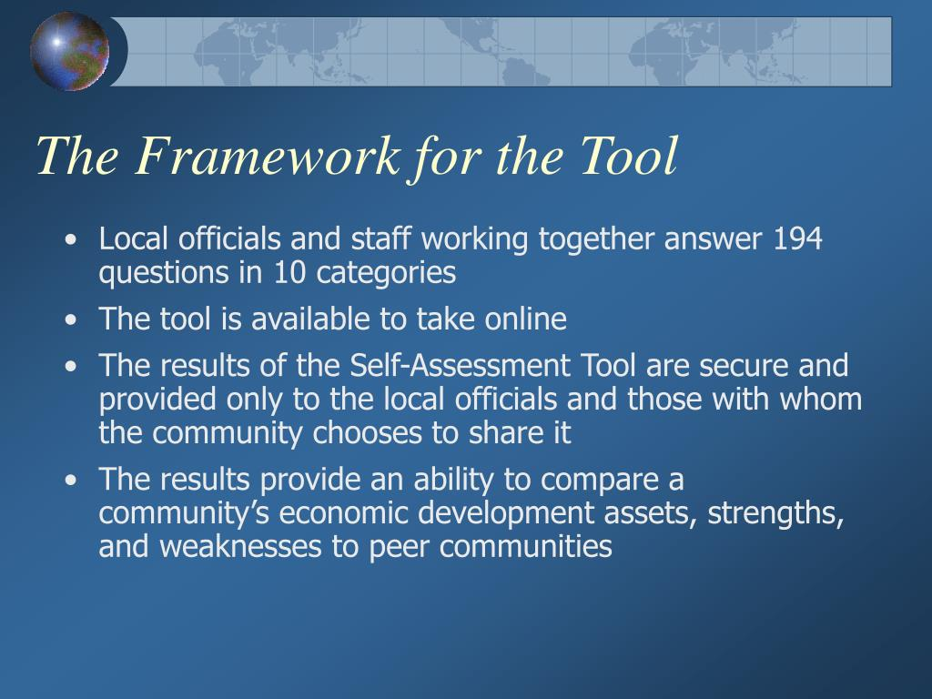 The Framework for the Tool