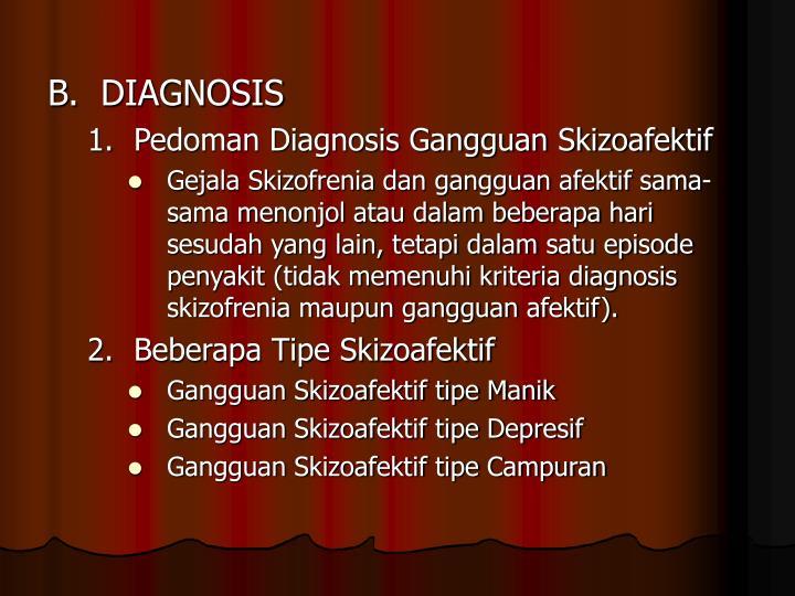 B.DIAGNOSIS