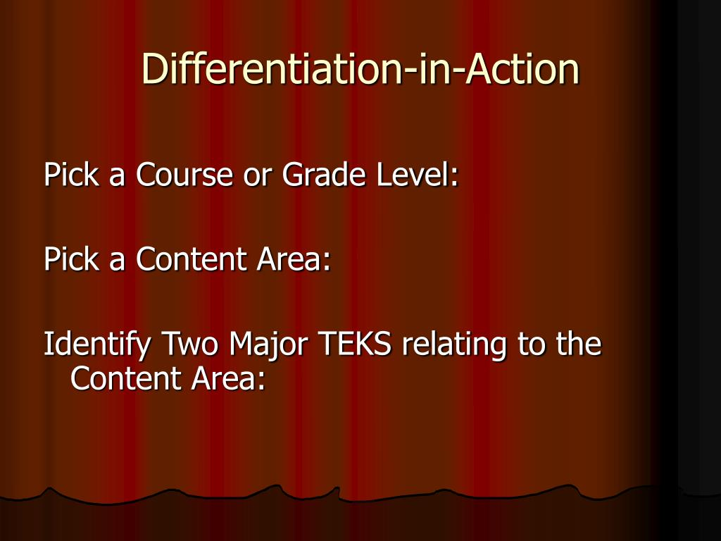 Differentiation-in-Action