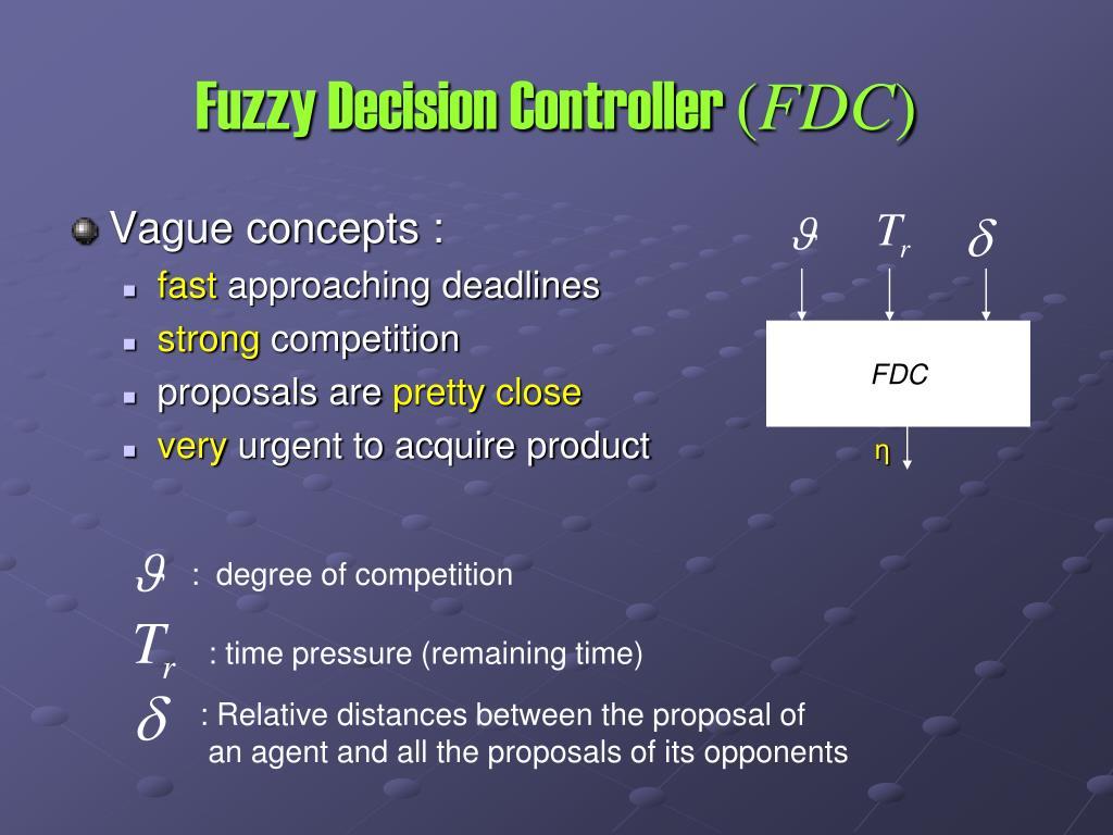 Fuzzy Decision Controller