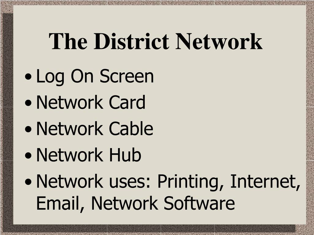 The District Network