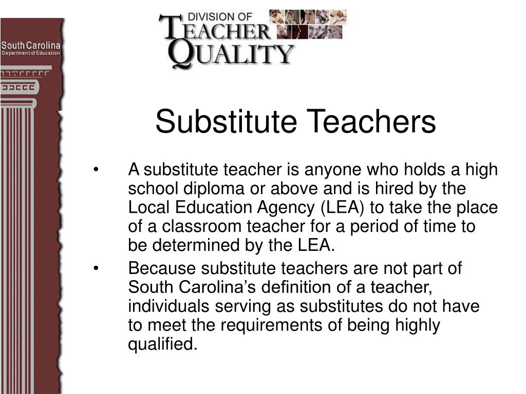 Substitute Teachers